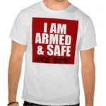 ARMED & SAFE TEESHIRT