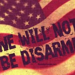 WE WILL NOT BE DISARMED